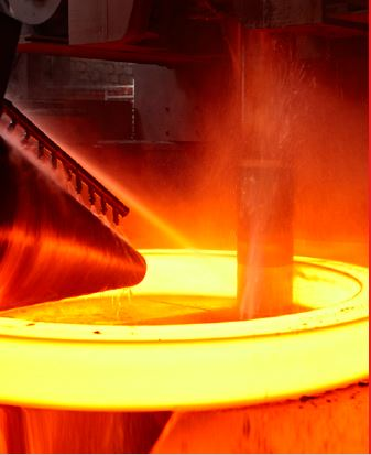 Ring Rolling forging - GNA Gears